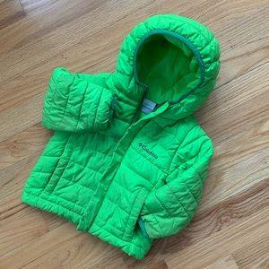 Columbia Green Powder Lite Puffer Jacket